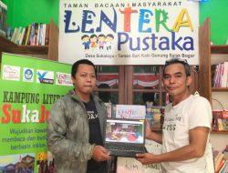 Luncurkan Website, TBM Lentera Pustaka Optimalkan Publikasi Taman Bacaan di Indonesia